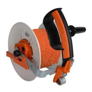 Geared Reel prewound 400m orange