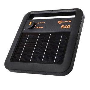 S40 Solar fencer