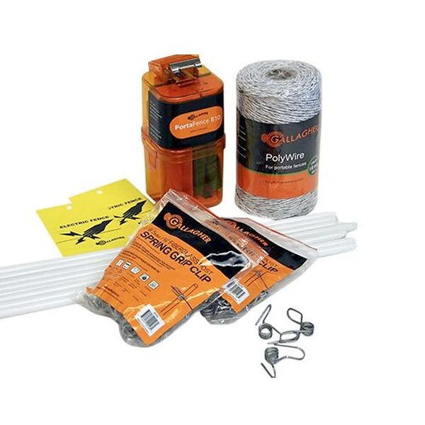 A600 Garden and Backyard Protection Electric Fence Kit