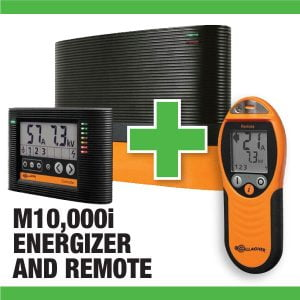 M10000i Energizer with Remote Sale