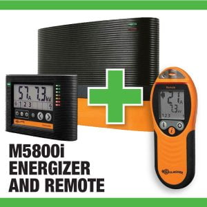 M5800i Energizer with Remote Sale