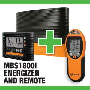 MBS1800i Energizer with Remote Sale